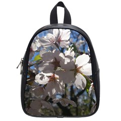 Cherry Blossoms School Bag (small) by DmitrysTravels
