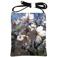 Cherry Blossoms Shoulder Sling Bag by DmitrysTravels