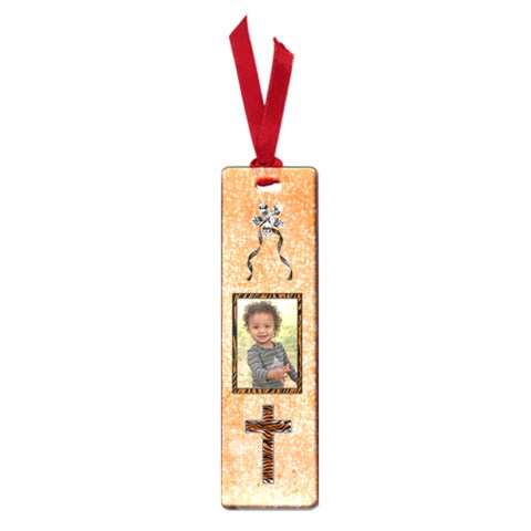 Orange Cross Bookmark Small By Angeye   Small Book Mark   Lsdn2k23a6lv   Www Artscow Com Front