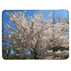 Cherry Blossoms Tree Samsung Galaxy Tab 7  P1000 Flip Case by DmitrysTravels