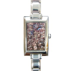 Sakura Rectangular Italian Charm Watch by DmitrysTravels