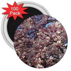 Sakura 3  Button Magnet (100 Pack) by DmitrysTravels