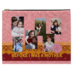 Mothers Day By Mom   Cosmetic Bag (xxxl)   S4drb580hput   Www Artscow Com Front