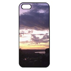 Sunset Over The Valley Apple Iphone 5 Seamless Case (black) by Majesticmountain