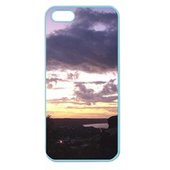 Sunset Over The Valley Apple Seamless Iphone 5 Case (color) by Majesticmountain