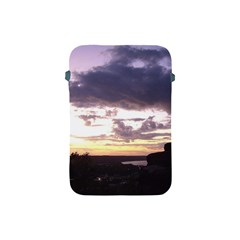 Sunset Over The Valley Apple Ipad Mini Protective Sleeve by Majesticmountain