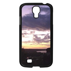 Sunset Over The Valley Samsung Galaxy S4 I9500/ I9505 Case (black) by Majesticmountain