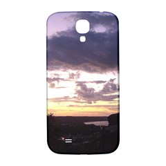 Sunset Over The Valley Samsung Galaxy S4 I9500/i9505  Hardshell Back Case by Majesticmountain