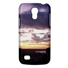 Sunset Over The Valley Samsung Galaxy S4 Mini (gt I9190) Hardshell Case  by Majesticmountain