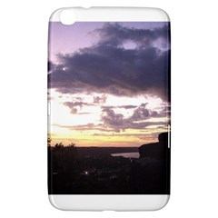 Sunset Over The Valley Samsung Galaxy Tab 3 (8 ) T3100 Hardshell Case  by Majesticmountain