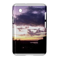 Sunset Over The Valley Samsung Galaxy Tab 2 (7 ) P3100 Hardshell Case  by Majesticmountain