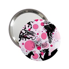 Fantasy In Pink Handbag Mirror (2 25 )