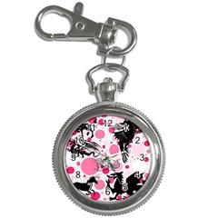 Fantasy In Pink Key Chain Watch by StuffOrSomething