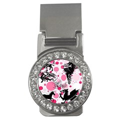 Fantasy In Pink Money Clip (cz) by StuffOrSomething