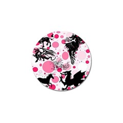 Fantasy In Pink Golf Ball Marker 10 Pack by StuffOrSomething