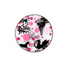 Fantasy In Pink Golf Ball Marker 10 Pack (for Hat Clip) by StuffOrSomething