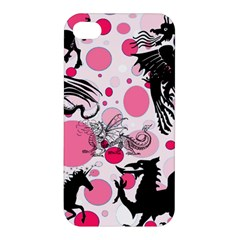 Fantasy In Pink Apple Iphone 4/4s Premium Hardshell Case by StuffOrSomething