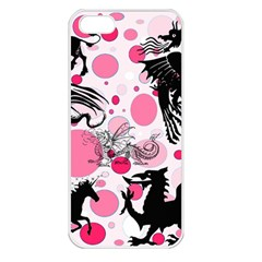 Fantasy In Pink Apple Iphone 5 Seamless Case (white)