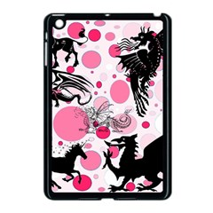 Fantasy In Pink Apple Ipad Mini Case (black) by StuffOrSomething
