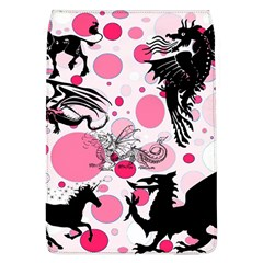 Fantasy In Pink Removable Flap Cover (large)