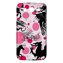 Fantasy In Pink Samsung Galaxy Mega 5 8 I9152 Hardshell Case  by StuffOrSomething