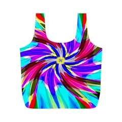 Implosionbag By Jean Petree   Full Print Recycle Bag (m)   4blenviphb2d   Www Artscow Com Back