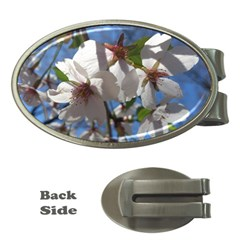 Cherry Blossoms Money Clip (oval) by DmitrysTravels