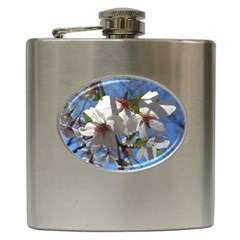 Cherry Blossoms Hip Flask by DmitrysTravels