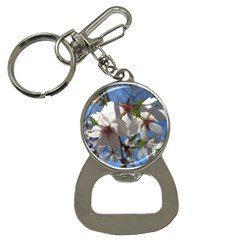 Cherry Blossoms Bottle Opener Key Chain by DmitrysTravels