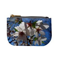 Cherry Blossoms Coin Change Purse by DmitrysTravels