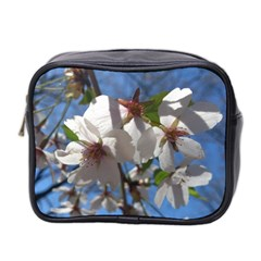 Cherry Blossoms Mini Travel Toiletry Bag (two Sides) by DmitrysTravels