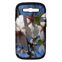 Cherry Blossoms Samsung Galaxy S Iii Hardshell Case (pc+silicone) by DmitrysTravels