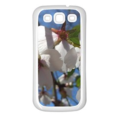 Cherry Blossoms Samsung Galaxy S3 Back Case (white) by DmitrysTravels