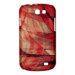 Grey And Red Samsung Galaxy Express I8730 Hardshell Case  by Zuzu