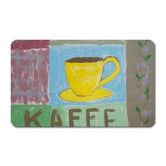 Kaffe Painting Magnet (rectangular) by StuffOrSomething