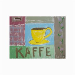 Kaffe Painting Canvas 12  X 18  (unframed) by StuffOrSomething