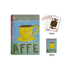 Kaffe Painting Playing Cards (mini) by StuffOrSomething