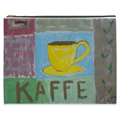 Kaffe Painting Cosmetic Bag (xxxl) by StuffOrSomething