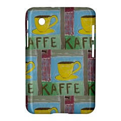 Kaffe Painting Samsung Galaxy Tab 2 (7 ) P3100 Hardshell Case  by StuffOrSomething