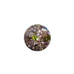 Cherry Blossoms 1  Mini Button by DmitrysTravels