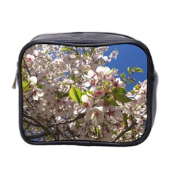 Cherry Blossoms Mini Travel Toiletry Bag (two Sides)