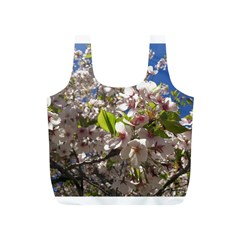 Cherry Blossoms Reusable Bag (s) by DmitrysTravels