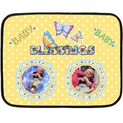 Twins Baby Blanket, 2 Sides #4 By Joy Johns   Double Sided Fleece Blanket (mini)   0eyoowayxmo2   Www Artscow Com 35 x27 Blanket Front