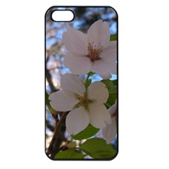 Sakura Apple Iphone 5 Seamless Case (black) by DmitrysTravels