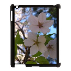 Sakura Apple Ipad 3/4 Case (black) by DmitrysTravels