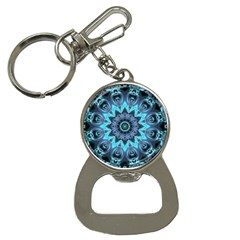 Star Connection, Abstract Cosmic Constellation Bottle Opener Key Chain by DianeClancy