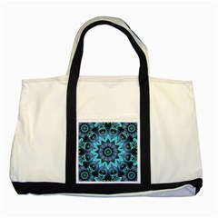 Star Connection, Abstract Cosmic Constellation Two Toned Tote Bag by DianeClancy