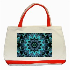 Star Connection, Abstract Cosmic Constellation Classic Tote Bag (red)