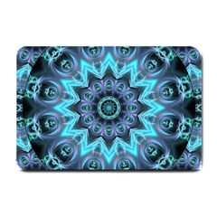 Star Connection, Abstract Cosmic Constellation Small Door Mat by DianeClancy