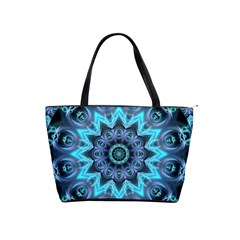 Star Connection, Abstract Cosmic Constellation Large Shoulder Bag